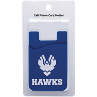 Hawks Cell Phone Card Holder